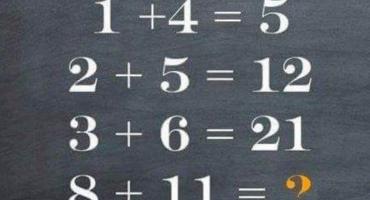 Este desafío matemático está dando mucho de qué hablar en Facebook