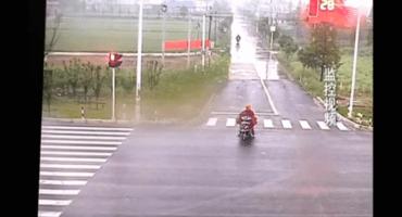 Microinfarto: Este motociclista esquivó la muerte de pura suerte