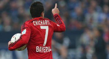 Chicharito anotó GOL contra el Schalke y acá lo pueden ver