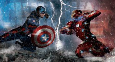 Robert Downey Jr. responde al reto de lagartijas de Captain America: Civil War