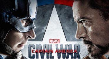 Captain America: Civil War se convierte en la segunda película más taquillera de lo que va del año