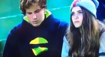 Justo en el corazón: Una chica termina a su novio en televisión