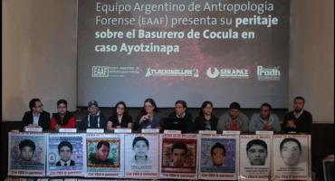 Peritos argentinos ponen en duda el nuevo peritaje en el basurero de Cocula