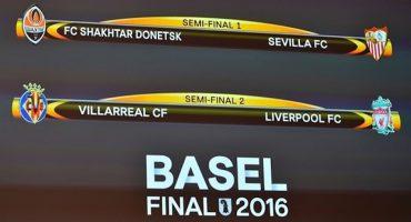 Así quedó la ida en las semifinales de la Europa League