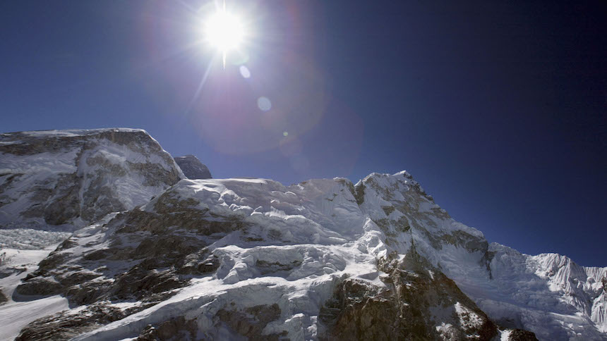 ¿El Everest es el punto más alejado del centro de la Tierra?