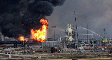 Aumenta la cifra a 136 heridos y 13 muertos por explosion de Petroquimica en Coatzacoalcos