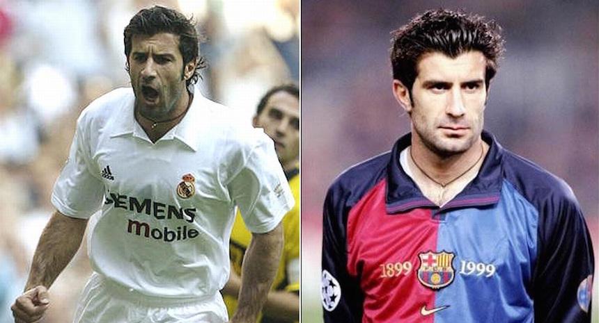 Figo, el traidor del Barcelona