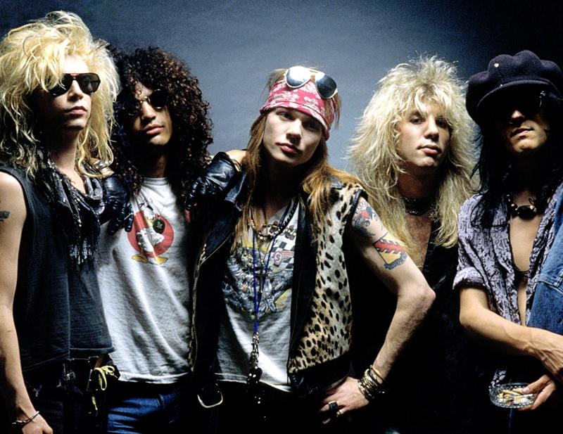 Los 5 momentos más rock star de Guns N' Roses