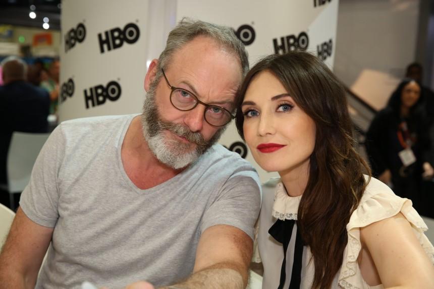 Carice van Houten y Liam Cunningham nos hablan sobre la sexta temporada de Game of Thrones