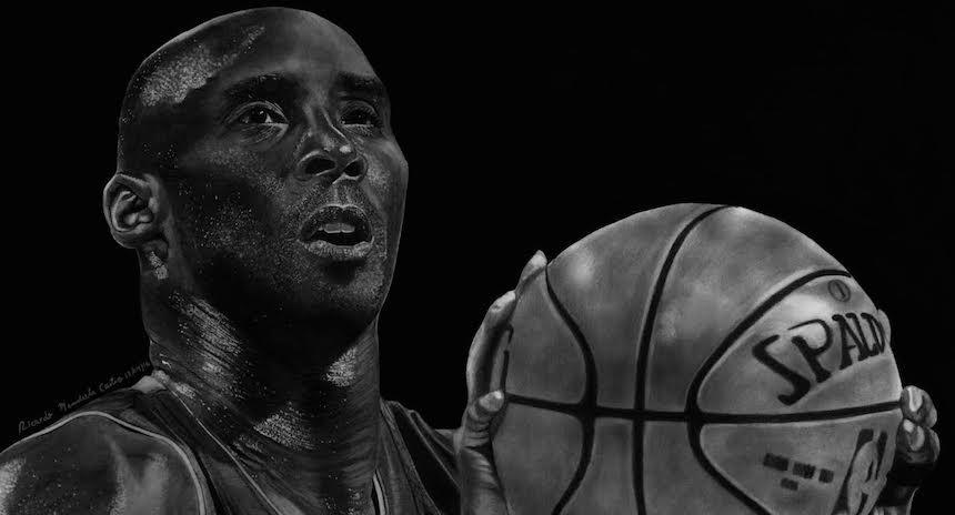 El Impresionante Dibujo Que Hizo Un Fan Para Kobe Bryant
