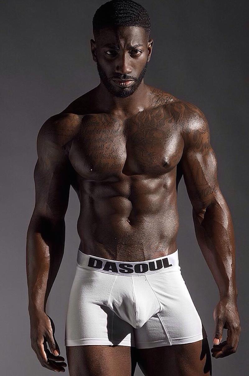 Nude British Black Men