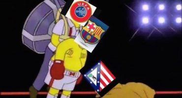 Acá están los memes de la eliminación del Barcelona en UCL