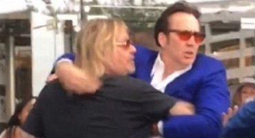 Nicolas Cage tiene un altercado con Vince Neil de Mötley Crüe en Las Vegas