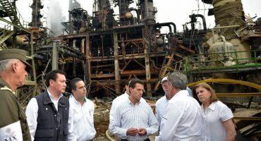 ¿Peña Nieto usó photoshop en su visita a Coatzacoalcos?
