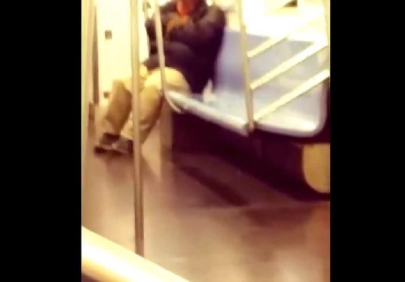 ¡Ahhhh, el horror! Rata trepa en hombre que dormía en el Metro