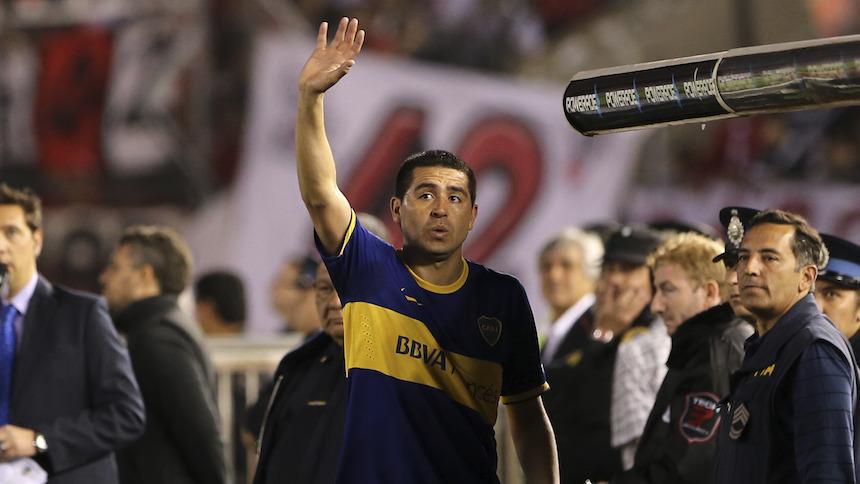Juan Román Riquelme podría jugar en Estados Unidos
