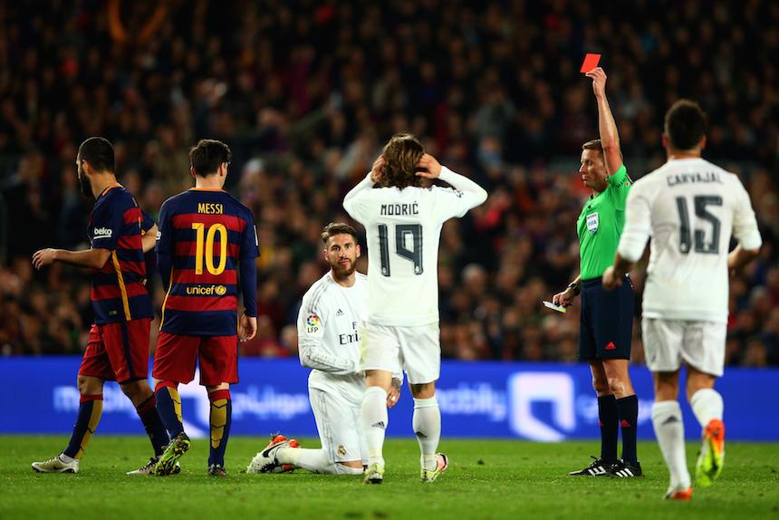 Sergio Ramos con Real Madrid