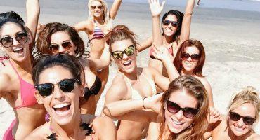 Galería: porristas de los Dallas Cowboys en playas mexicanas