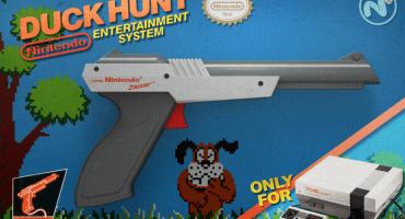 Compañía de armas transforman una pistola en un clon del Nintendo Zapper