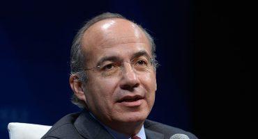 Felipe Calderón sufre accidente automovilístico en Quintana Roo