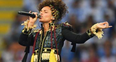 Así se vivió la presentación de Alicia Keys en la Champions League