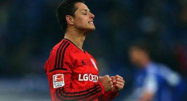 'Chicharito' Hernández lidera el 11 ideal del año de la Bundesliga