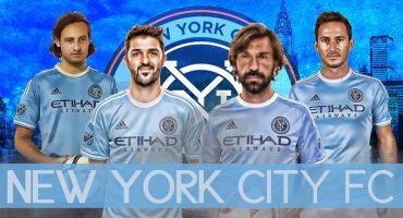 Visitando a Andrea Pirlo y David Villa en los cuarteles del New York City FC