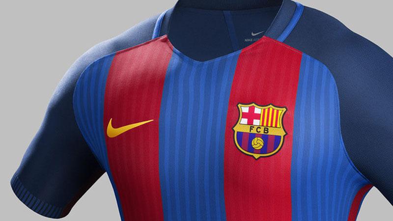 Barcelona presenta su monumental uniforme para la temporada 2016-2017