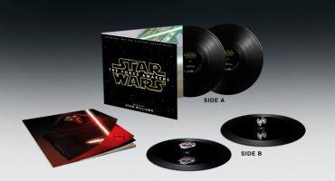 NERDGASMO: El sountrack en vinilo de The Force Awakens ¡tiene hologramas en 3D!