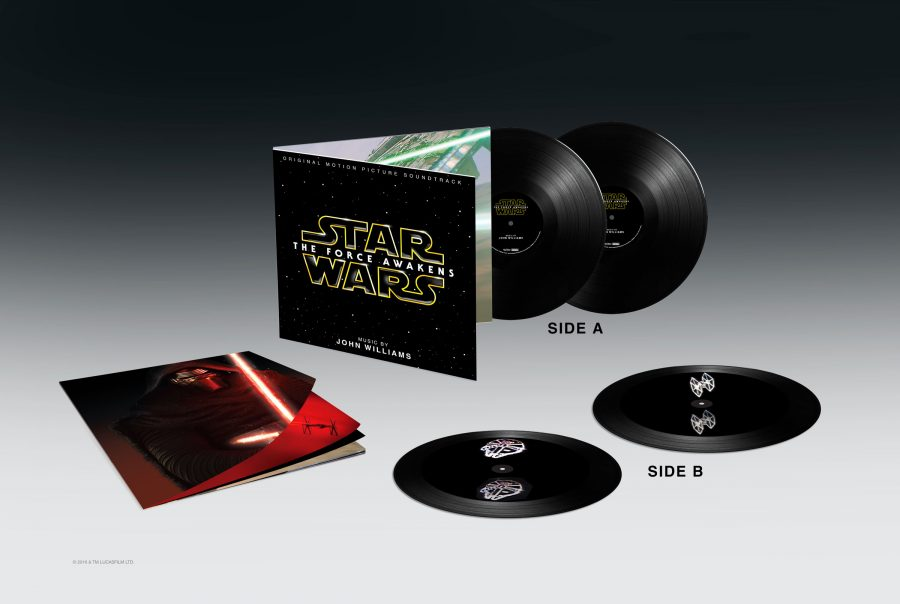 NERDGASMO: El sountrack en vinilo de The Force Awakens ¡tiene hologramas en 3D!