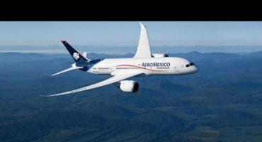 Fallece pasajero en un vuelo de Aeroméxico