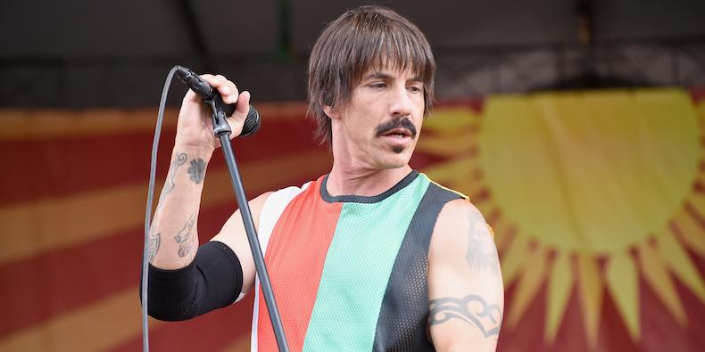 Hospitalizan de emergencia a Anthony Kiedis de Red Hot Chili Peppers