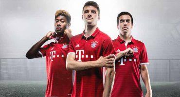 El Bayern Munich se viste de gala y presenta su nuevo uniforme