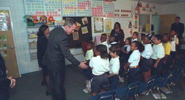 Se revelan imágenes inéditas de George W. Bush en el 9/11