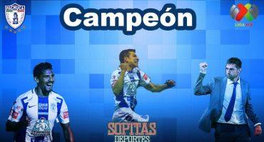Pachuca es campeón de la Liga MX