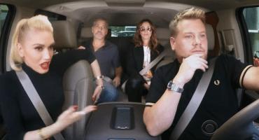 Mira a Gwen Stefani, George Clooney y Julia Roberts cantar en el 'Carpool Karaoke'