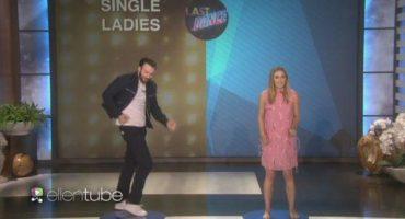 La divertida batalla de baile entre Chris Evans y Elizabeth Olsen