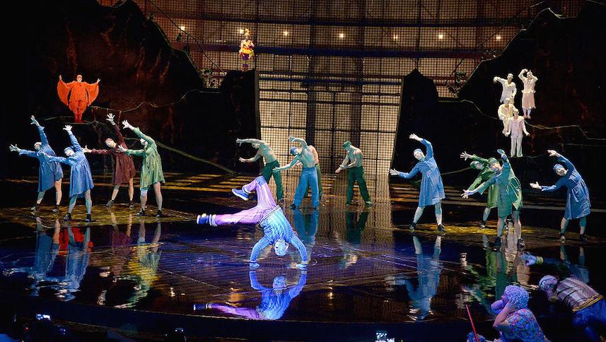 Gobierno gasta 850 millones de pesos  en espectáculo de Cirque du Soleil