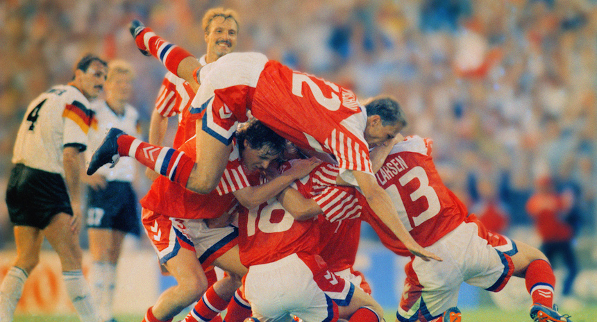 #JuevesNoventero Dinamarca y su triunfo en la Euro 92