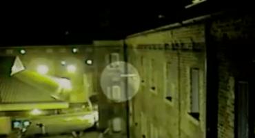 Un drone que entrega drogas y teléfono a una celda de prisión