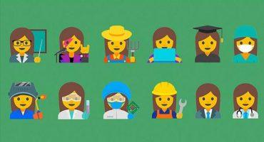Google lanza propuestas de emojis para representar mejor a las mujeres
