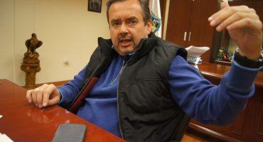 Pese a prohibición del INAH, alcalde casa a hijo en edificio histórico... se burla en Periscope