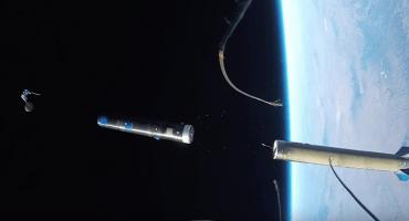 El lanzamiento de un cohete al espacio, visto con una GoPro