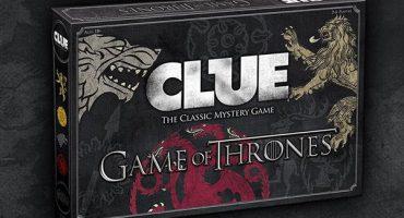 Tú decides quién muere en Clue, edición Game of Thrones