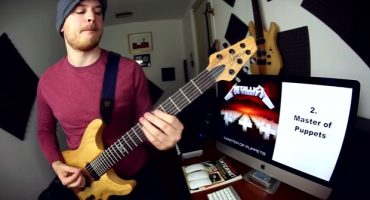Este sujeto toca un fragmento de todas, ¡TODAS!, las canciones de Metallica