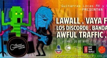 #MartesDeEmergenciaNacional presenta: 10º aniversario de Guitarras Locas