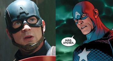 Esta ha sido la reacción del internet ante la el Captain America como agente de Hydra