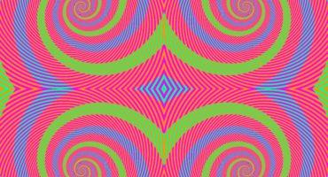 En esta imagen solo hay tres colores, el cuarto lo crea tu cerebro
