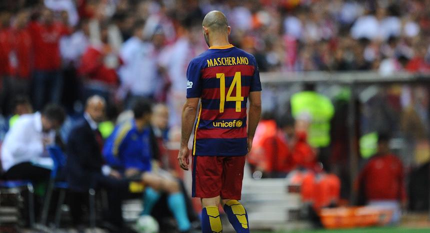 Javier Mascherano cambiaría al Barcelona por la Juventus