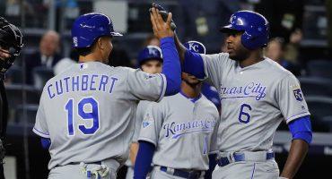 Video: Lorenzo Cain y sus tres home runs